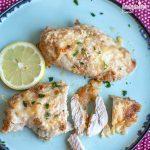 Pui cu parmezan la cuptor / Parmesan baked chicken