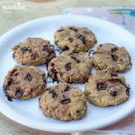 Fursecuri keto cu ciocolata / Keto chocolate chip cookies