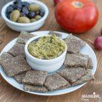 Crackers cu seminte de in / Flaxseed crackers