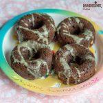Gogosi keto cu ciocolata / Keto chocolate donuts