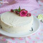 Tort keto cu mascarpone si zmeura / Keto raspberry mascarpone cake