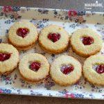 Fursecuri Linzer keto / Keto Linzer cookies