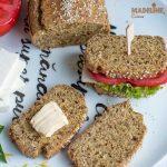 Paine keto cu seminte de in / Keto flaxseed bread