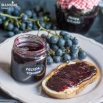 Peltea de struguri / Homemade grape jelly