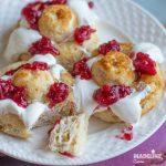 Papanasi low carb / Low carb cheese dumplings