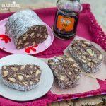 Salam de biscuiti keto / Keto chocolate biscuit salami