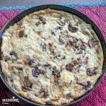 Tarta cu ciuperci si branza / Mushroom cheese quiche