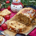 Cozonac cu caramel / Caramel sweet bread