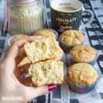 Briose cu faina de migdale / Almond flour muffins