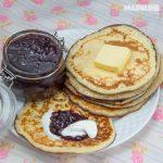 Clatite cu crema de branza / Cream cheese pancakes