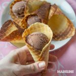 Conuri de inghetata keto / Keto ice cream cones