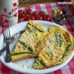 Omleta cu sparanghel / Asparagus omelette