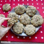 Biscuiti cu faina de cocos si branza / Coconut flour cheese biscuits