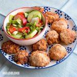 Chiftelute Arancini cu conopida / Cauliflower Arancini balls