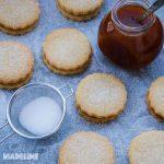 Biscuiti fara gluten cu gem / Gluten-free jam cookies