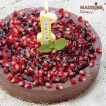 Cheesecake vegan de ciocolata / Vegan chocolate cheesecake