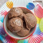 Inghetata keto de ciocolata / Keto chocolate ice cream
