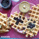 Gaufre de post / Vegan waffles