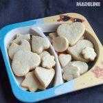 Fursecuri fragede cu unt fara zahar / Sugar free shortbread cookies