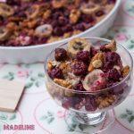 Terci de ovaz cu fructe la cuptor / Baked fruit oatmeal