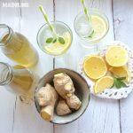 Sirop de ghimbir de casa / Homemade ginger syrup