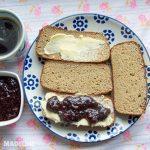 Paine keto cu drojdie / Keto yeast bread