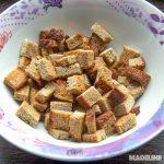 Crutoane keto de casa/ Keto homemade croutons