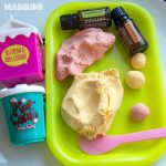Plastilina DIY din 2 ingrediente / DIY 2 ingredient play dough