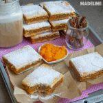Placinta cu dovleac si aluat fraged / Pumpkin shortbread pie