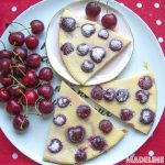 Clafoutis low carb cu cirese / Low carb cherry clafoutis