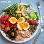 Salata Nicoise cu somon / Nicoise salmon salad