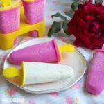 Inghetata de trandafiri / Rose ice cream