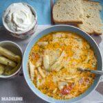 Ciorba de fasole pastai / String beans sour soup