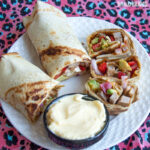 Wrap cu friptura si pesto / Pesto steak wrap