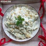 Salata de fasole pastai cu usturoi / String beans garlic salad