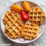 Gaufre keto cu branza si Ketomix / Keto cheese waffles (VIDEO)