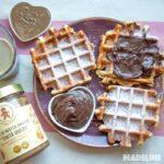 Gaufre keto cu aroma de turta dulce / Keto gingerbread waffles