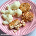 Chiftelute de somon si conopida / Salmon cauliflower patties