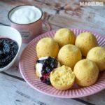 Briose cu malai la multicooker / Pressure cooker cornmeal muffins