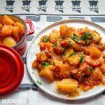 Tocanita de cartofi la multicooker / Pressure cooker potato stew
