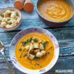 Supa crema de cartof dulce si morcovi la multicooker / Pressure cooker sweet potato carrot soup