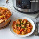 Tocanita de pui la multicooker / Pressure cooker chicken stew