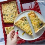 Tarta cu praz si cu branza / Leek & cheese quiche (VIDEO)