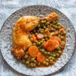 Mancare de mazare cu pui la multicooker / Pressure cooker pea & chicken stew