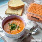 Supa de linte la multicooker / Lentil pressure cooker soup