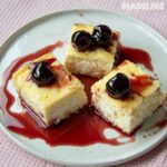 Budinca de branza cu gris si stafide / Cheese, semolina & raisin casserole