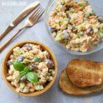 Salata de naut si maioneza / Chickpea mayonnaise salad
