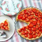 Tarta cu vanilie si capsuni / French vanilla strawberry tart