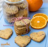 Biscuiti cu portocale / Orange cookies