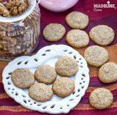 Pricomigdale fara zahar / Sugar-free walnut macarons